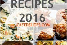 Top 10 recipies for 2016