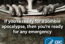 Zombie Apocalypse Prep / A zombie survival board.  Only the strong and prepared will survive. So... I'd be screwed. / by Holly Logue