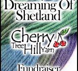 Cherry Tree Hill Yarn Dreaming of Shetland Fundraiser