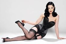 Pin me up / Every Girl should channel her inner pin up!  / by Brittany Barreto