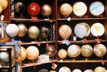 Maps & Globes / by Rebecca