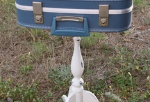 Vintage Suitcase Creations / I have an old suitcase - now what can I do with it....
