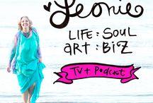 Leonie Dawson Podcast / 0 / by Leonie Dawson :: LeonieDawson.com