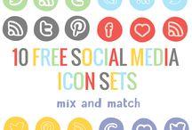 Sosyal Medya-Social Media İcons
