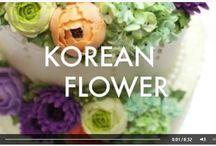 Korean Flowers Cake