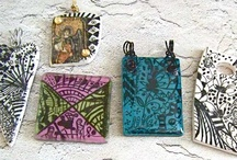 Zentangle on polymer clay