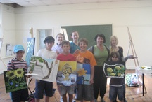 Kids Love Art / Yelena Dyumin' School of Fine Art www.dyuminart.com #dyuminart #artist #Yelena_Dyumin