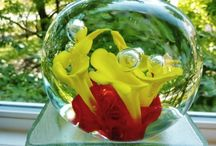 paperweights / glass art wonders / by jesma archibald   (nutmegs)