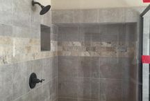 Tile Showers done by First Floors Carpet One / Tile Showers done by First Floors-Carpet One