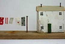 Mini Primitive Village Houses