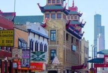 Chicago / So many #familytravel favorites to see - museums, parks, skyscrapers, shopping - with a great Chinatown nestled just south of the Loop, and Asian neighborhoods all over Chicagoland.