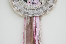 Dotty Owl - Vintage Rosettes / Prize Ribbons / Products available to order from Dotty Owl, beautiful Sewn Items. Vintage Keepsake Rosettes / Prize Ribbon:  http://dottyowl.com