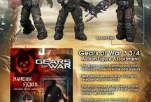 """Gears of War- 3 3/4"""" Scale Figures"""
