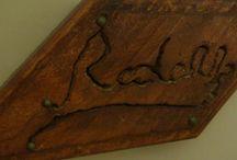 Wood / Lavorazioni in legno  / by Rudy Massaro