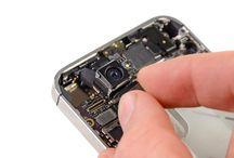 Sustitución de la cámara trasera del iPhone 4S / Para sustituir la cámara trasera de iPhone 4s, siga los pasos siguientes.