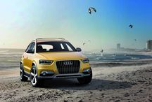 Audi Q3 / A commitment to urban sportiness. The Audi Q3 echoes the form of an offroader, but it is clearly an urban vehicle.