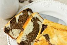 low carb marble cake