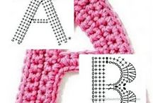 Crochet alphabet patterns