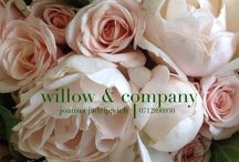 Willow & Company / Joanna Jadrijevich - Wedding collage / Floral styling