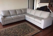 Custom Fabric Sectional Sofa
