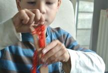 Handwerken en knutselen met kinderen