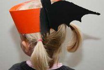 Halloween: knutselen en activiteiten / Thema Halloween