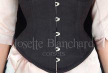Corsets Waist-Cincher / Corsets modelos waist-cincher e similares.