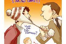 A happy family at 221b Baker Street