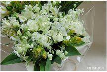 Natural white bouquet / bouquet・花束