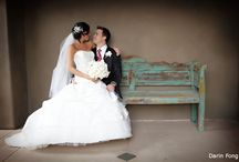 Wedding Poses - Bench