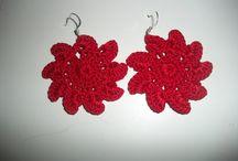 Crochet / Gioielli creati a con l'uncinetto