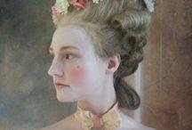 Women's Rococo Hair