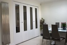 spazio foldingdoors / Our products include concertina folding doors, bi-fold doors, folding walls, acoustic folding doors and acoustic operable walls in sizes according to type from 600mm to 20000mm and manufactured using the highest quality materials.