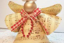 Inspiracje na Święta / Nie masz pomysłu na dekoracje świąteczne? Te prace na pewno zainspirują Cię do tego, by samodzielnie stworzyć podobne cudeńka.