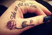 Tattoo / Inšpirácie tetovania :)