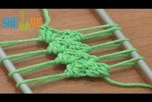 Tricot crochet knit