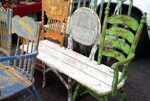 Gjenbygde møbler
