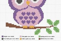 Cross Stitch / I've loved to cross stitch ever since I can remember!!  My Mom taught me how to at a young age and I haven't stopped the craft!  =) / by Tanya - The Paper Cubby