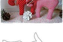 Fabric Christmas