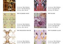 DESIGNS FOR 'LA ESPERANZA' -scarves-