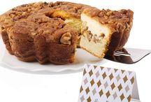 Ultimate Coffee Cakes / You don't have to go abroad to give loved ones a delectable pastry. One bite of our delicious Coffee Cakes, and your recipients will get swept away and find themselves in the heart of Vienna. This 'old country' Viennese dessert is now available as a delicious cake delivery —and one that recipients will love.