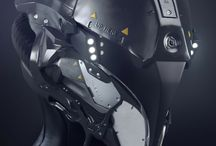 Armure futuriste