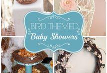 Birdy baby shower