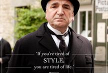 Downton Quotes / Shower Decor / by Wendy Elwood