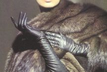 Sexy is, the combination of leather and fur!