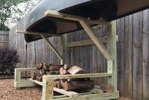 Kayake & Firewood Storage