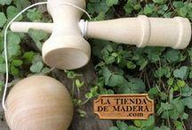 Juguetes tradicionales de madera