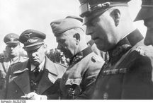 Hitler and His Generals  / Hitler said he would never want to meet an uniformed officer ever again after the War.  He got it. His generals did not win the war for him, nor he for himself.
