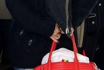 Outfits Красная сумка