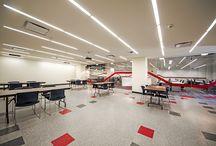 Lenovo en Guadalajara, México, / Nuevas oficinas de Lenovo. Diseño de espacios abiertos.